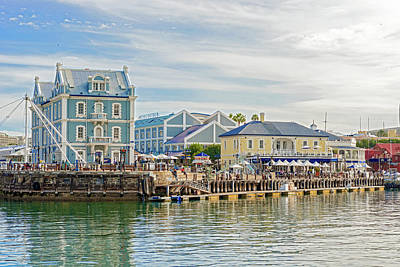 Photograph - Victoria And Alfred Waterfront In Cape Town, South Africa by Marek Poplawski