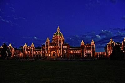 Photograph - Victoria At Dusk by Craig Perry-Ollila