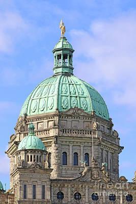 Photograph - Victoria Bc Parliament  2117 by Jack Schultz