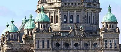 Photograph - Victoria Bc Parliament  2124 by Jack Schultz