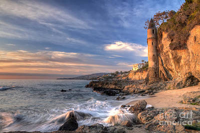 Laguna Beach Wall Art - Photograph - Victoria Beach by Eddie Yerkish