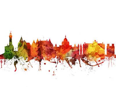 Victoria Digital Art - Victoria Cityscape 04 by Aged Pixel