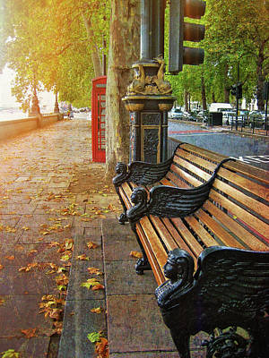 Photograph - Victoria Embankment by JAMART Photography
