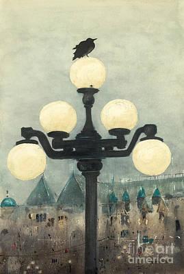Victoria Evening Art Print
