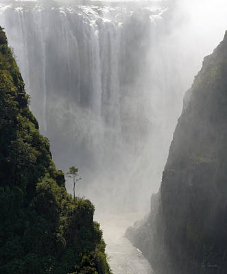 Photograph - Victoria Falls No. 2 by Joe Bonita