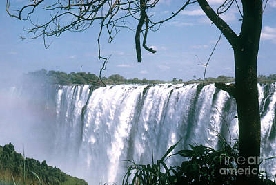 Photograph - Victoria Falls by Photo Researchers Inc
