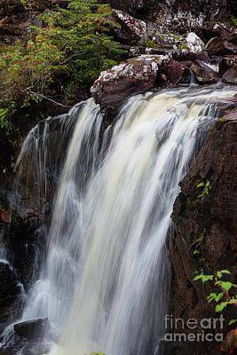Photograph - Victoria Falls Scotland by Diane Macdonald