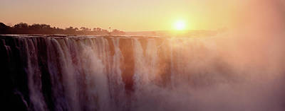Victoria Falls, Zimbabwe Art Print by Ben Cranke