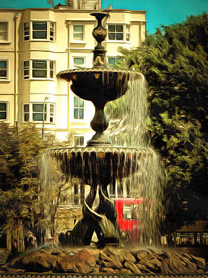 Photograph - Victoria Fountain Brighton by Dorothy Berry-Lound