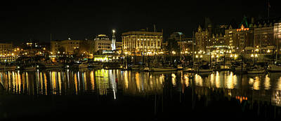 Photograph - Victoria Inner Harbour - 365-250 by Inge Riis McDonald
