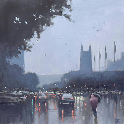 Wall Art - Painting - Victoria Square by Mike Barr