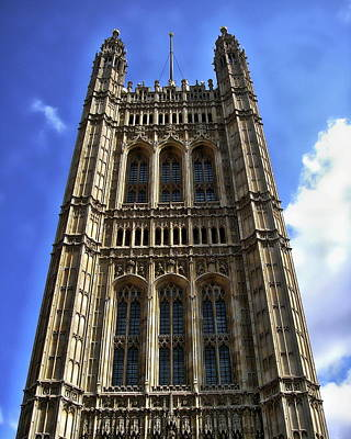 Photograph - Victoria Tower by Anthony Dezenzio