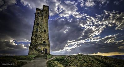 Pineapple - Victoria Tower Castle Hill Huddersfield 3 by Mike Walker