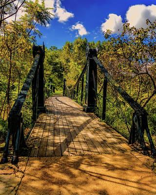 Photograph - Victorian Bridge Forest Park 7r2_dsc1256_16-09-28 by Greg Kluempers