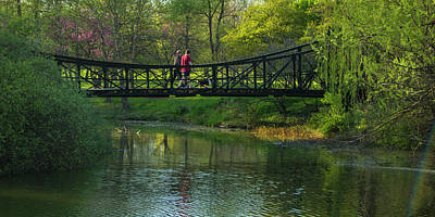 Photograph - Victorian Bridge In Forest Park by Garry McMichael