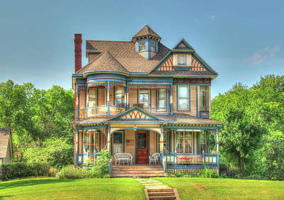 Photograph - Victorian Dream Home by J Laughlin
