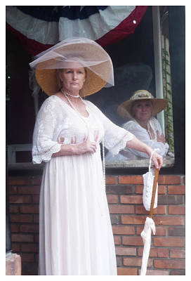 Photograph - victorian Elegance   ll by Margie Avellino
