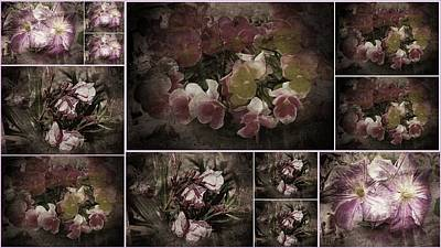 Photograph - Vintage Victorian Flowers Collection by Dorothy Berry-Lound