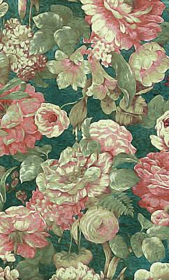 Lilies Mixed Media - Victorian Garden by Susan Maxwell Schmidt