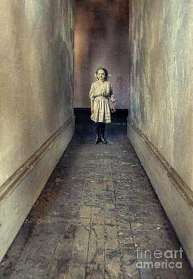 Photograph - Victorian Girl With Keys by Jill Battaglia