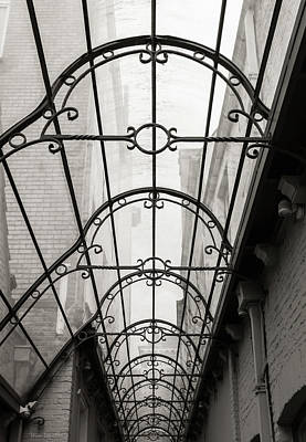 Photograph - Victorian Glass Roof by Wim Lanclus