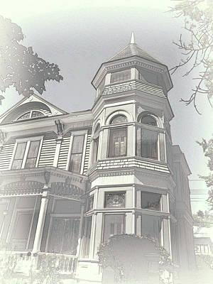 Photograph - Victorian House by Ann Powell