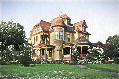 Victorian House Art Print by Ericamaxine Price