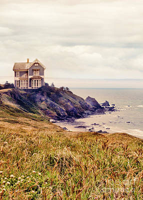 Photograph - Victorian House Overlooking The Sea by Jill Battaglia