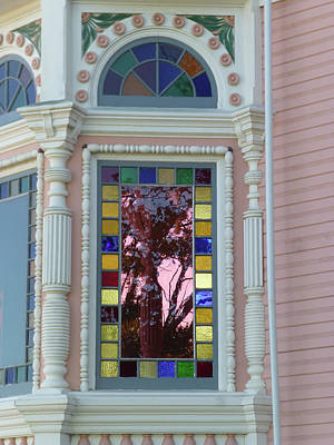 Photograph - Victorian House Window by K L Kingston