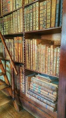 Photograph - Victorian Library by Isabella F Abbie Shores