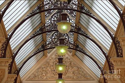 Photograph - Victorian Lights by PJ Boylan