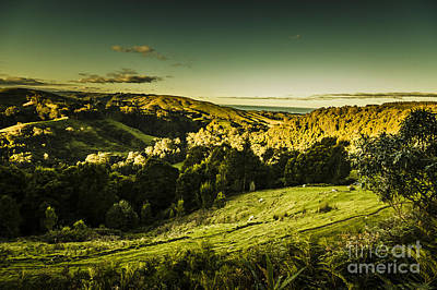 Photograph - Victorian Mountains Landscape by Jorgo Photography - Wall Art Gallery