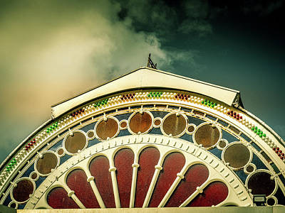 Photograph - Victorian Pier Roof by Pete Hunt