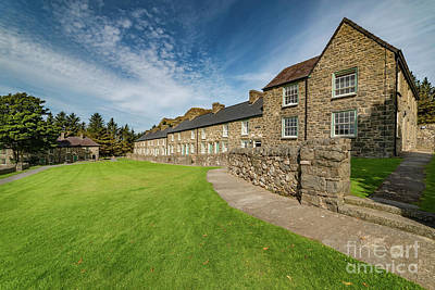 Mining Photograph - Victorian Quarry Village by Adrian Evans
