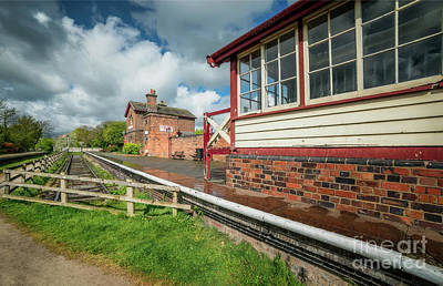 Photograph - Victorian Railway Station by Adrian Evans