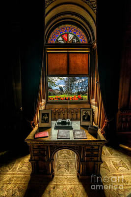 Desk Digital Art - Victorian Spring View by Adrian Evans