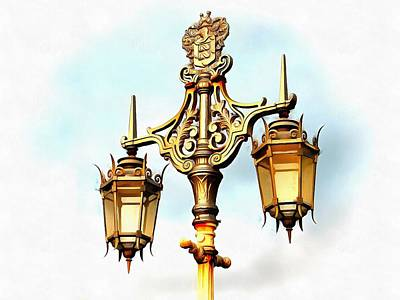 Photograph - Victorian Street Light by Dorothy Berry-Lound