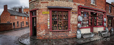 Photograph - Victorian Street Shop by Adrian Evans