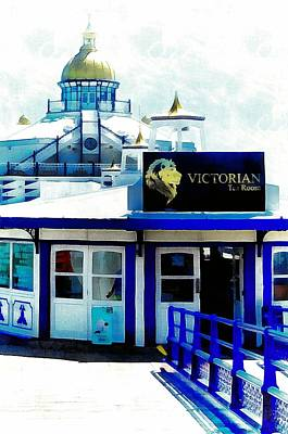Photograph - Victorian Tea Room Eastbourne Pier by Dorothy Berry-Lound