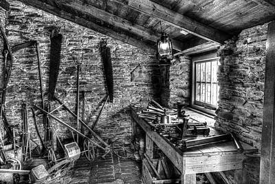 Heligan Photograph - Victorian Tool Shed by Robert Murray