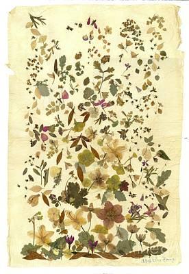 Victoriana Autumn Print by Kaye Miller-Dewing