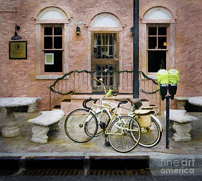 Photograph - Victoria's Bicycles by Craig J Satterlee