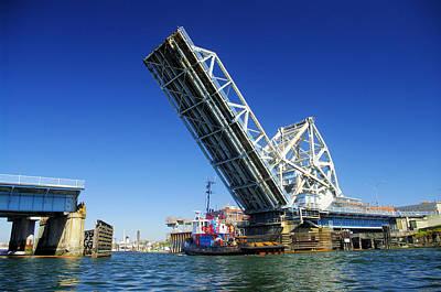 Victoria's Blue Bridge Art Print by John Greaves