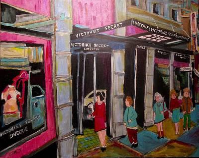 Painting - Victoria's Secret Stanley by Michael Litvack