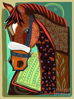 Victorious Art Print by Dania Sierra