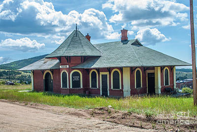 Photograph - Midland Terminal Depot by Tony Baca