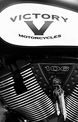 Photograph - Victory 106 Bw11116 by Rospotte Photography