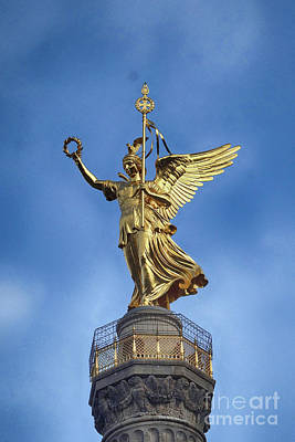 Photograph - Victory Column Berlin by Rudi Prott