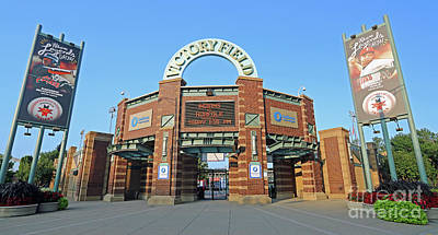 Victory Field, Indianapolis, Indiana Art Print by Steve Gass