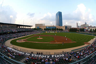 Victory Field Art Print by Rob Banayote